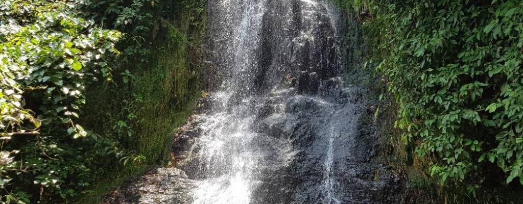 NANZIRI FALLS AT KYAMUSWA